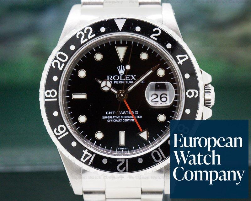 Rolex 16710 GMT Master II SS Black