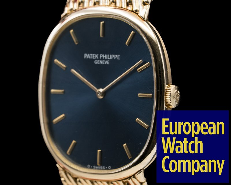 Patek Philippe 3848/8 Golden Ellipse 18K Yellow Gold Bracelet