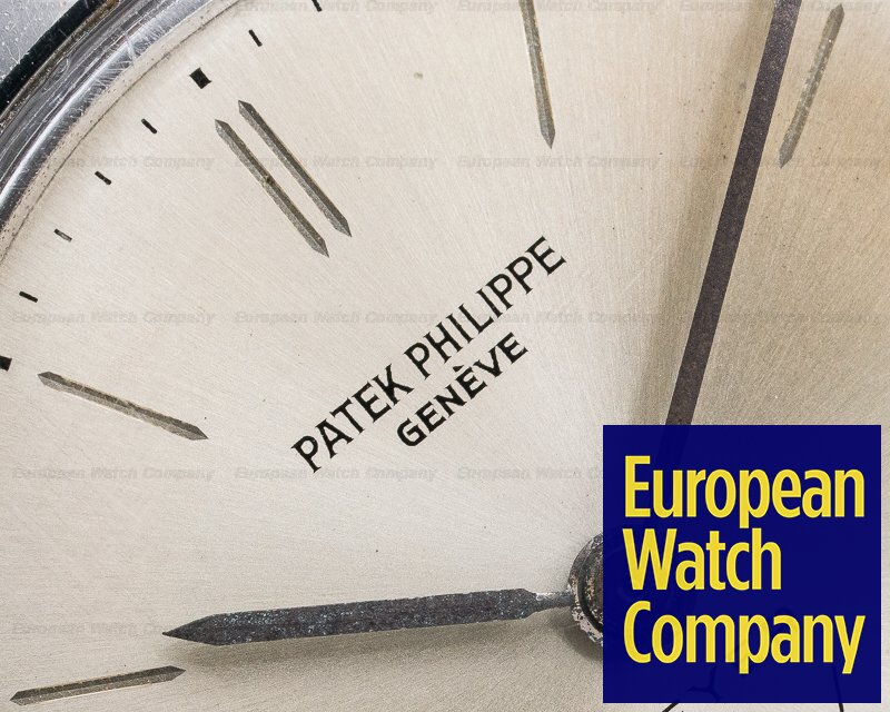 Patek Philippe 3419 Calatrava Waterproof Stainless Steel BEYER DIAL / Unpolished