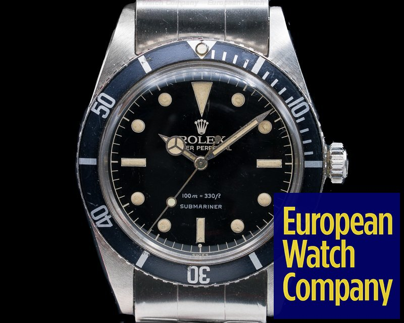 Rolex 5508 5508 Small Crown Gilt Submariner / GLOSSY DIAL WOW