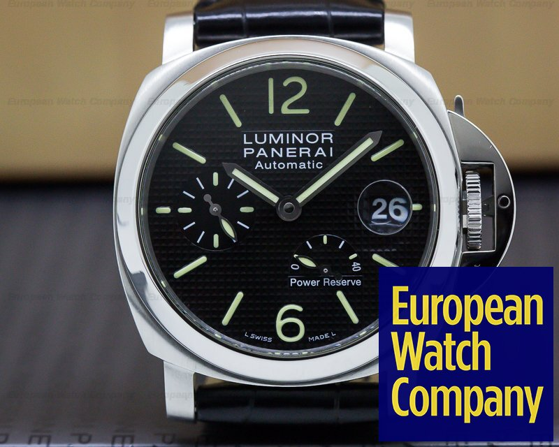 Panerai PAM00241 Luminor Marina Power Reserve Black 40MM