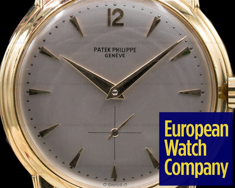 Patek Philippe 2551 Calatrava 2551 Automatic 'DISCO VOLANTE' 18K Yellow Gold