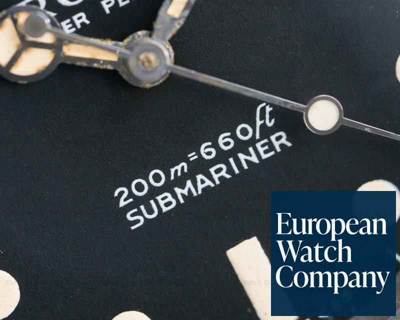 "Rolex 5513 Vintage Submariner 5513 ""Meters First"" SS VERY NICE"