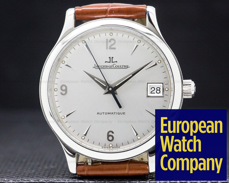 Jaeger LeCoultre 145.840.892 Master Control Automatic SS / Strap