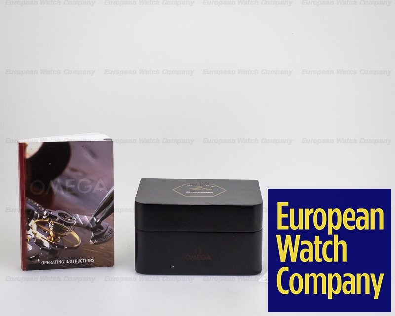 Omega 311.30.42.30.01.001 Speedmaster Chronograph Black Dial '50th Anniversary' LIMITED