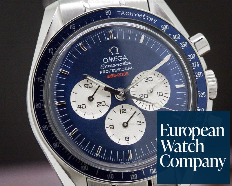 Omega 3565.80.00 Speedmaster Professional Gemini 4 RARE SS Blue Dial