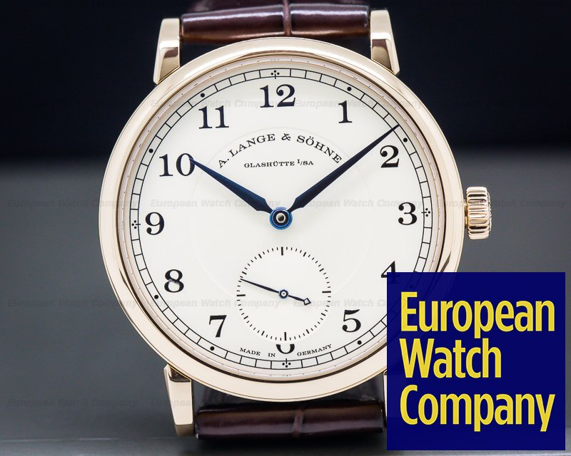 A. Lange and Sohne 235.032 1815 18K Rose Gold Silver Dial