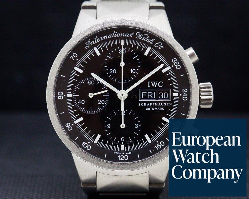 IWC 3707-03 GST Chronograph Black Dial Titanium