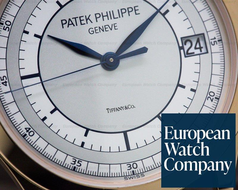 Patek Philippe 5296R-001 Calatrava 18K Rose Gold Sector Dial TIFFANY & CO