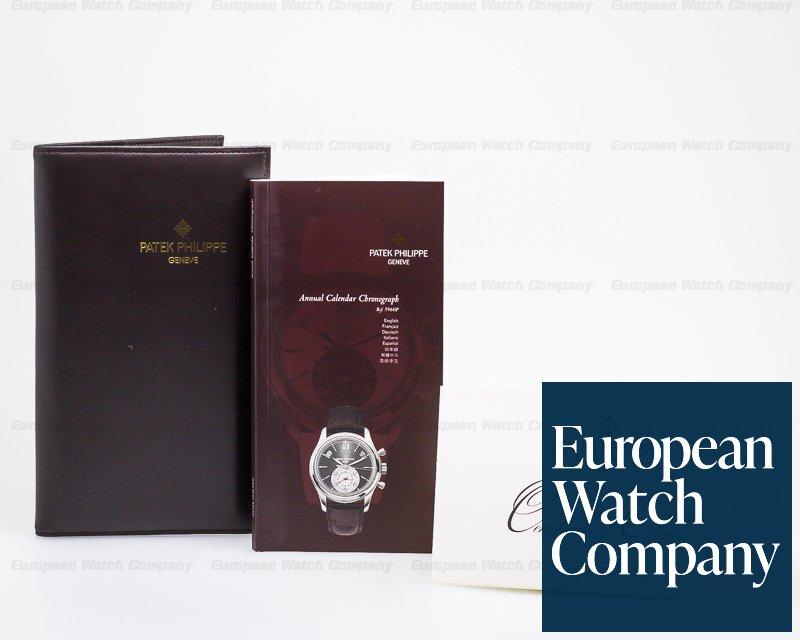 Patek Philippe 5960P-001 Annual Calendar Chronograph Platinum Grey Dial UNWORN DOUBLE SEALED