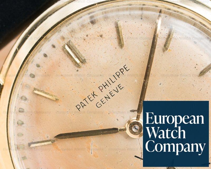 Patek Philippe 2484J 2484 Yellow Gold Manual Tropical Dial 33MM