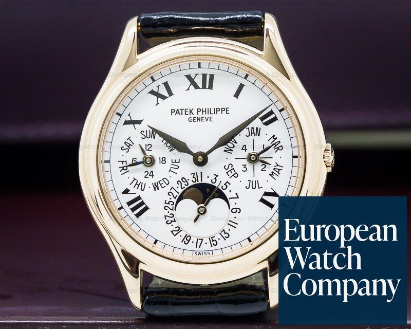 Patek Philippe 3940R-017 Perpetual Calendar Rose Gold / Roman Numerals