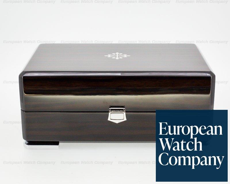 Patek Philippe 5205G-001 Annual Calendar Silver Dial 18K White Gold