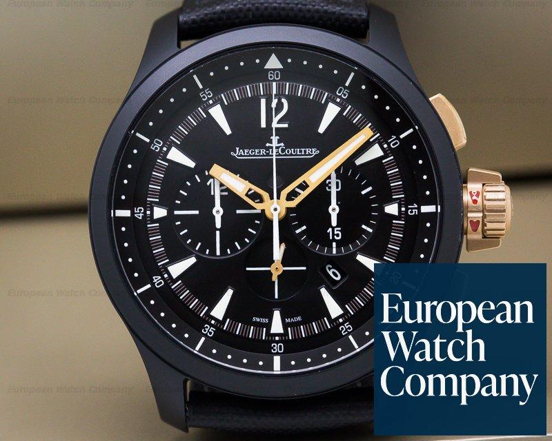Jaeger LeCoultre Q205L570  Master Compressor II Chronograph GMT Ceramic UNWORN