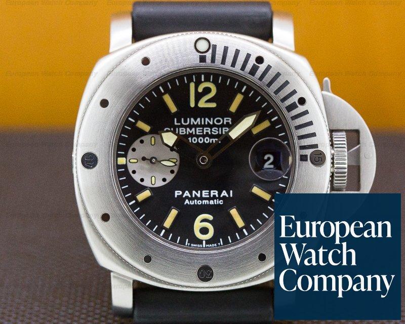 "Panerai PAM00064 Luminor Submersible ""La Bomba"" Steel / Rubber FULL SET"