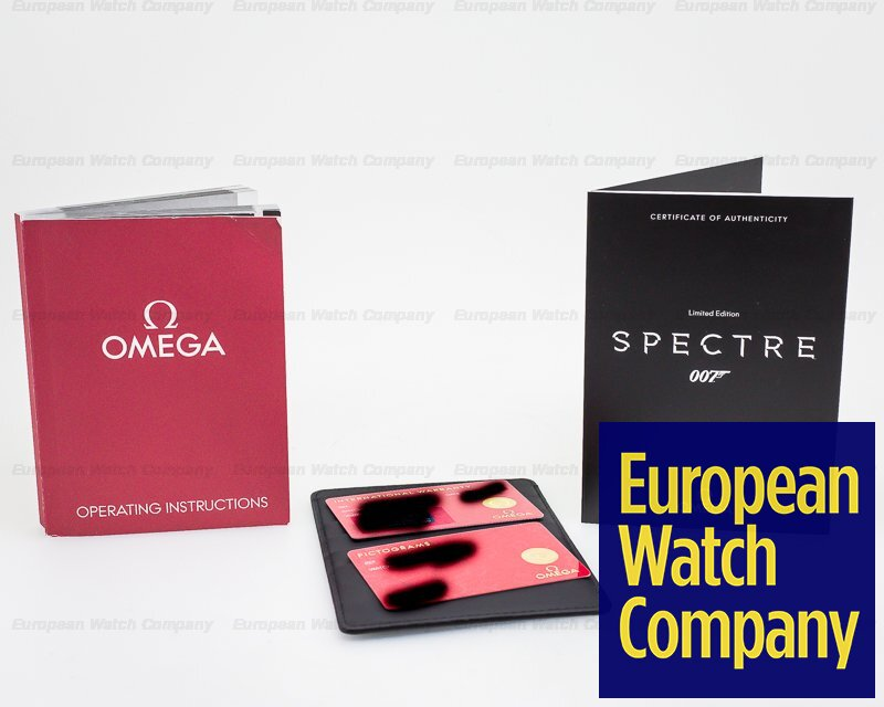 Omega 233.32.41.21.01.001 Omega Seamaster 300M Limited Edition SPECTRE