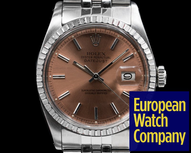 Rolex 1603 Vintage Datejust Silver Dial SS / SS Circa 1974