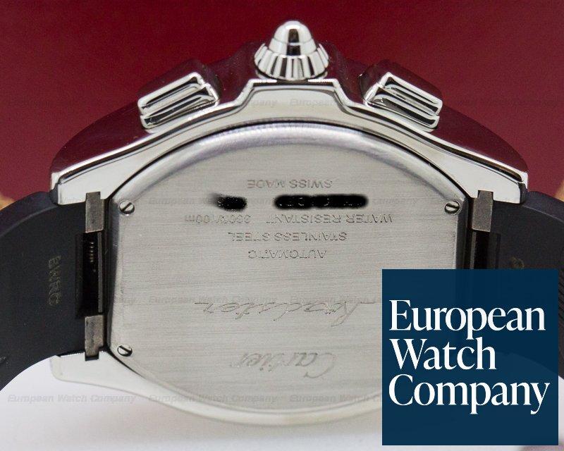 Cartier W6206020 Roadster Chronograph XL ADLC SS / Rubber