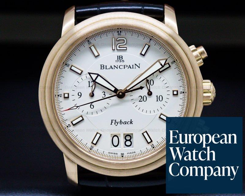 Blancpain 2885F-36B42-53B Flyback Big Date Brushed Rose Gold