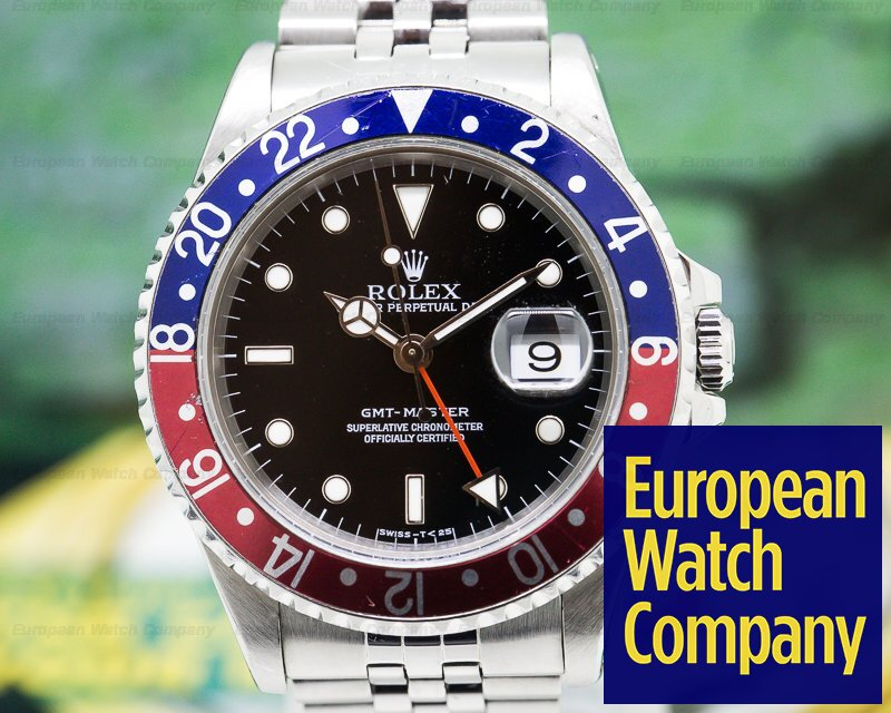 Rolex 16700 16700 GMT Master Red / Blue Pepsi Bezel