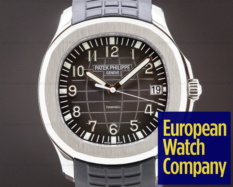 "Patek Philippe 5167A-001 Aquanaut SS ""TIFFANY & CO"""
