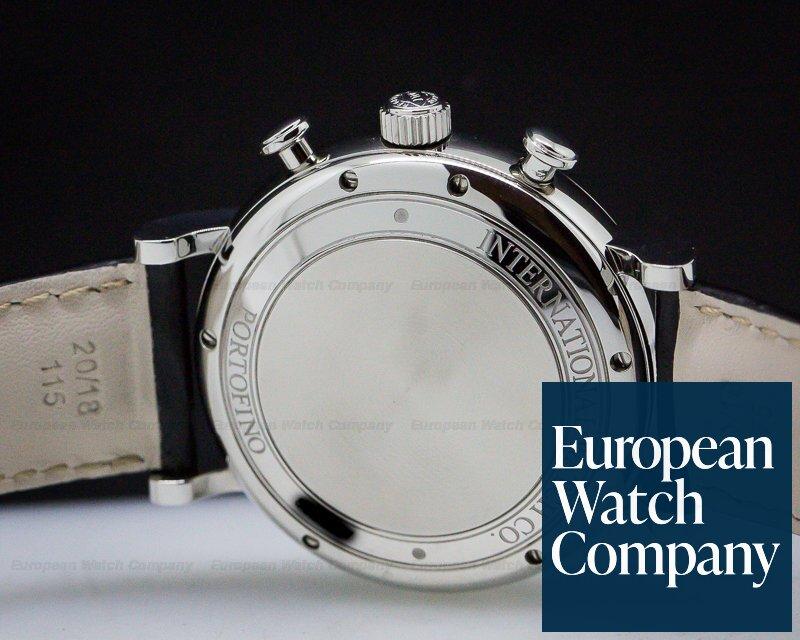 IWC IW391022 Portofino Chronograph SS Silver Dial Tang Buckle