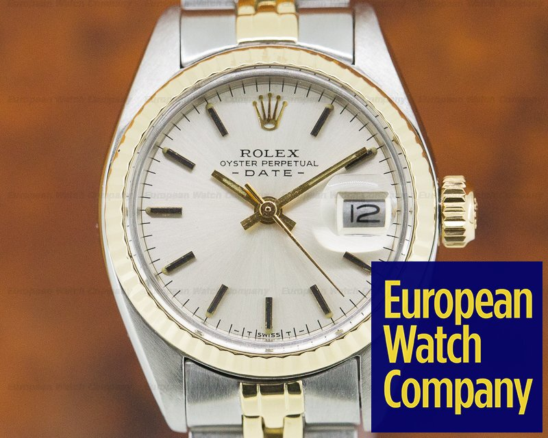 Rolex 69173 Lady Datejust Silver Dial 18K / SS