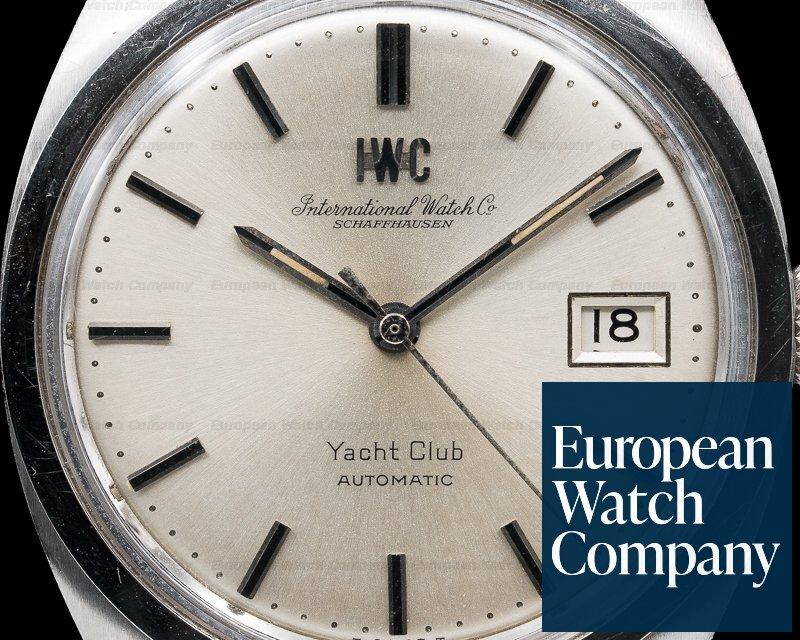 IWC 811AD Vintage 1970 Yacht Club Automatic Pellaton SS Bracelet