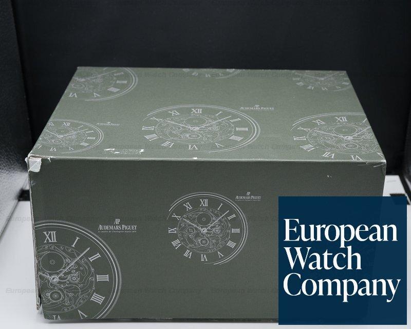 Audemars Piguet 25977ST.OO.1205ST.02 Royal Oak Tourbillon Chronograph Black Dial