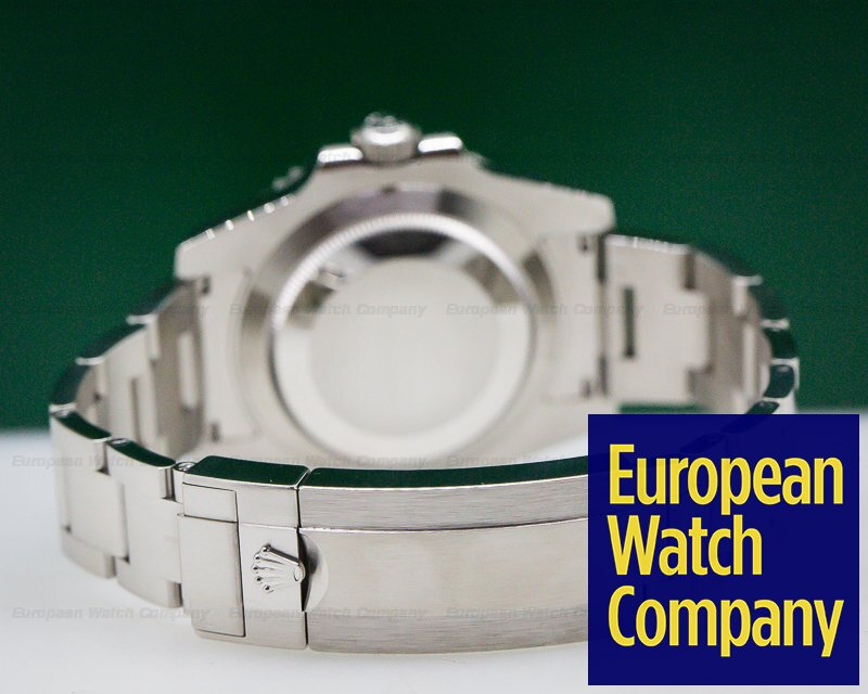 Rolex 116610LV Submariner Green Ceramic Bezel Green Dial SS
