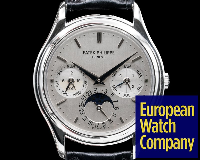 Patek Philippe 3940P-011 Perpetual Calendar Platinum FULL SET UNWORN