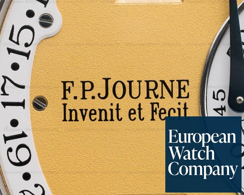 F. P. Journe Octa Calendrier Brass Octa Calendrier Platinum / Yellow Gold Dial 38MM BRASS MOVEMENT