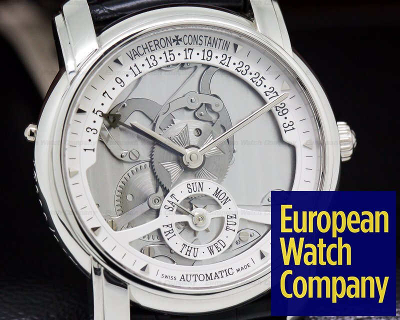 Vacheron Constantin 47245 Patrimony 31 Day Retrograde Platinum 247th Anniversary Edition
