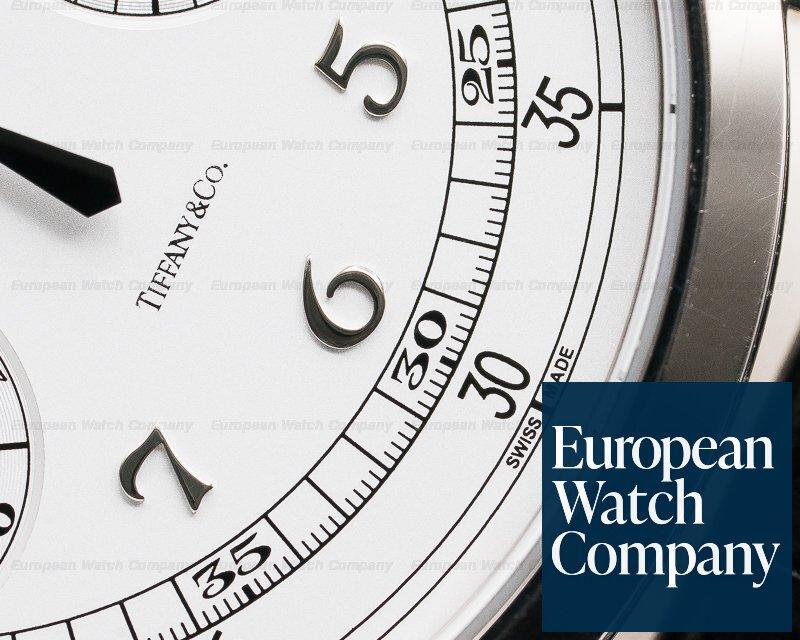 Patek Philippe 5170G-001 Chronograph 18K White Gold TIFFANY & CO Silver Pulsation