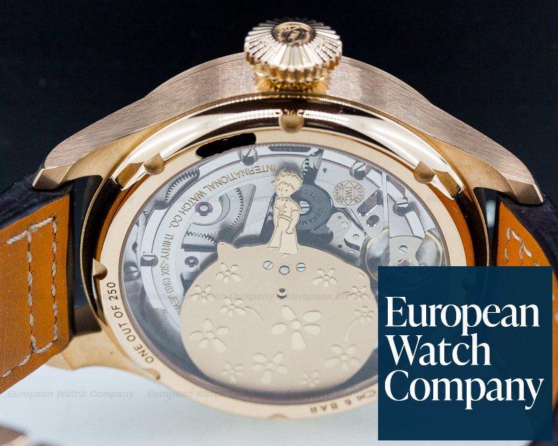 "IWC IW502701 Big Pilot Annual Calendar Edition ""Le Petite Prince"" 18k Rose Gold"