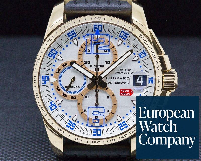 Chopard 161268-5009 Mille Miglia Gran Turismo XL Chronograph 18K RG
