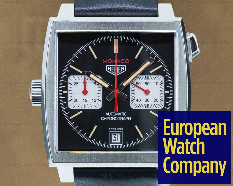 "TAG Heuer CAW211S.FC6375 Monaco Chronograph Caliber 11 ""France Edition"" Limited to 200 Pieces"
