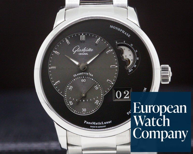 Glashutte Original 90-02-43-32-24 PanoMatic Lunar SS Grey Dial