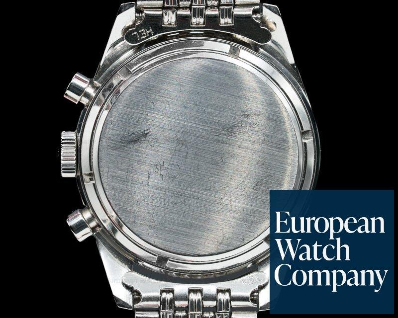 Heuer 2447SN Vintage Carrera 2447 SN Silver Panda / XL Bracelet + Original Box