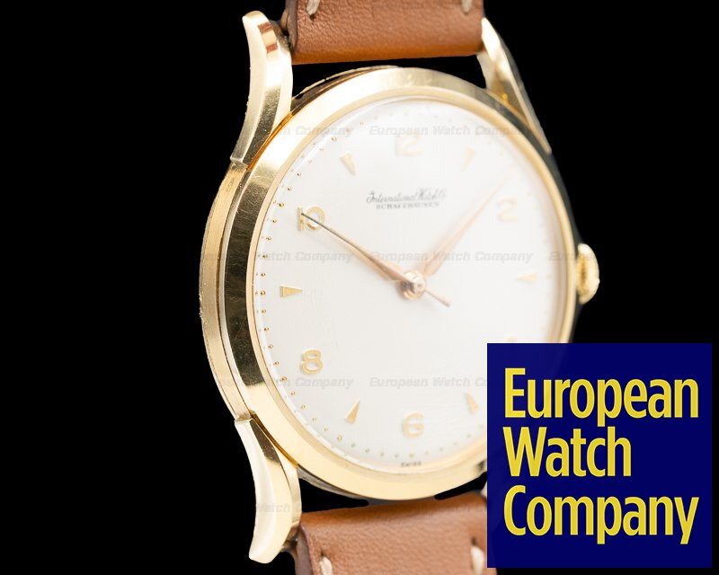 IWC Caliber 89 18k Yellow Gold