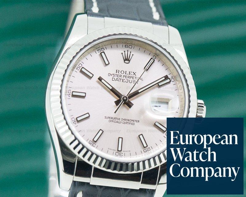 Rolex 116139 Datejust WG Pink Dial