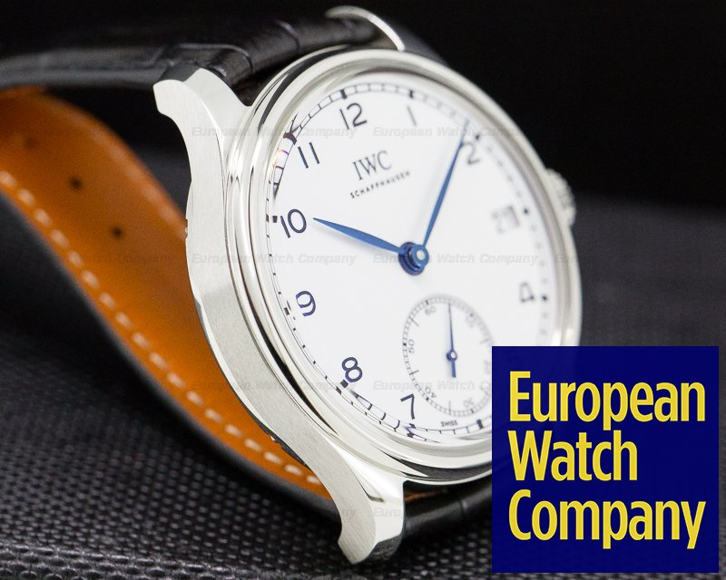 "IWC IW510212 Portugieser Hand Wound Eight Days Edition ""150 Years"" SS"
