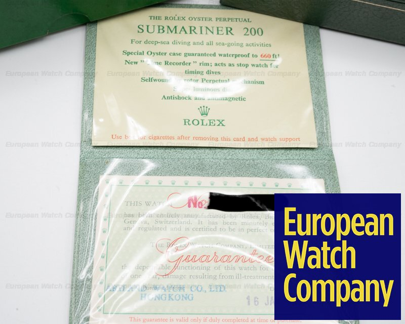 "Rolex 5513 ""Bart Simpson"" Gilt 5513 Submariner ""BART SIMPSON"" + Original Certificate WOW"