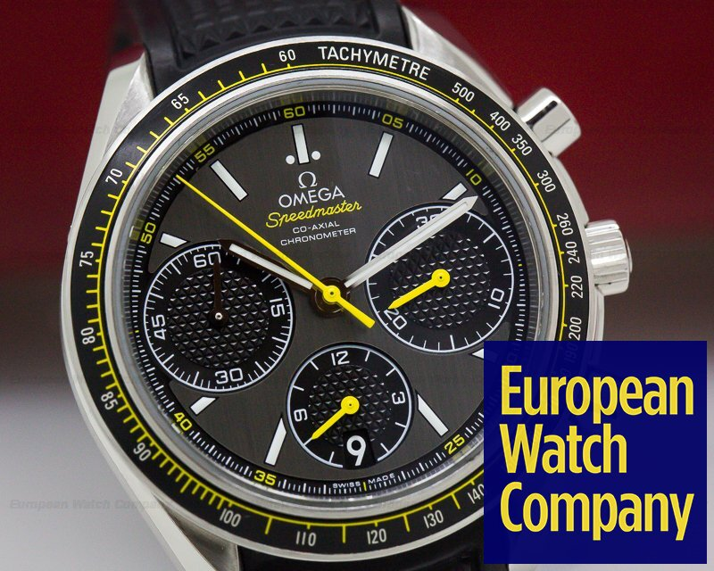 Omega 326.32.40.50.06.001 Speedmaster Racing Co-Axial Chronograph Grey Dial SS / Strap