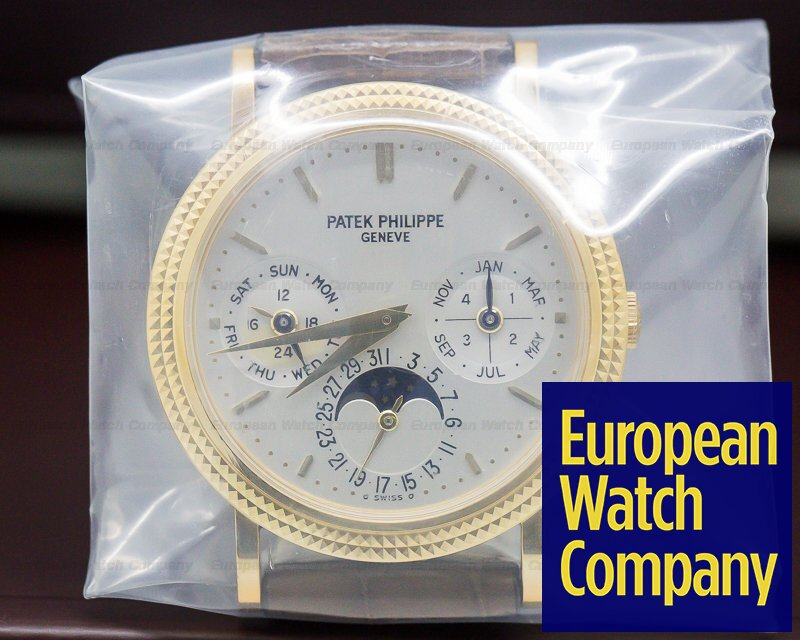 Patek Philippe 5039J-001 Perpetual Calendar 18K Yellow Gold SEALED