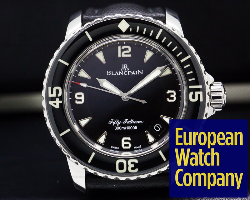 Blancpain 5015-1130-52 Fifty Fathoms Automatic SS / Kevlar