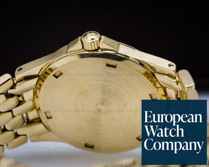 Patek Philippe 5081/1J Neptune Silver Dial 18K Yellow Gold