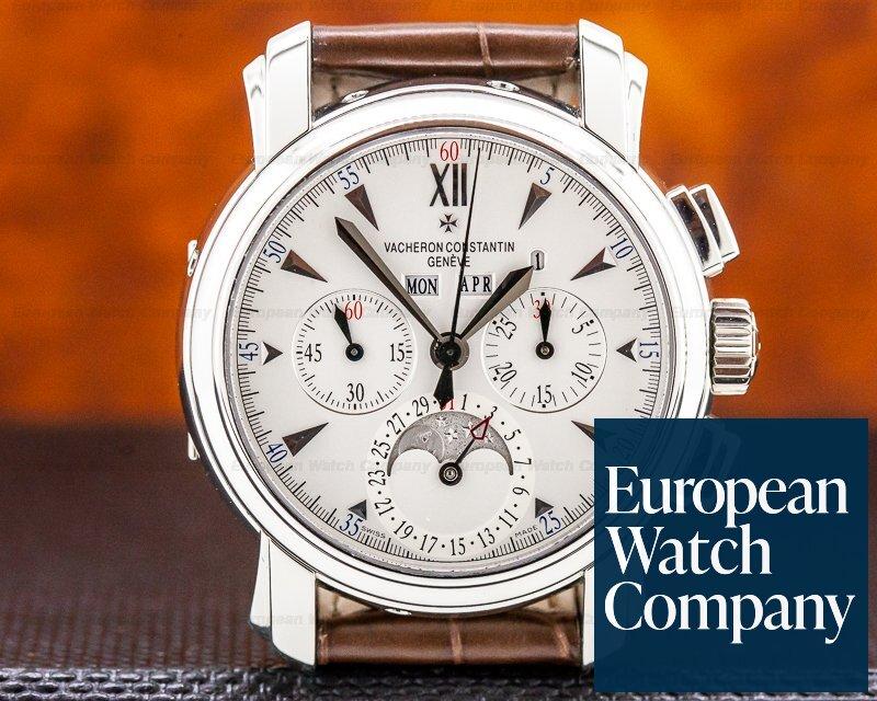Vacheron Constantin 47112/000p-8915 Malte Perpetual Calendar Chronograph Platinum