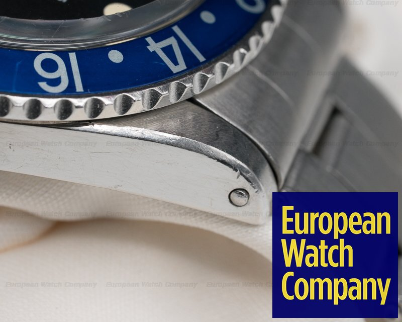 "Rolex 1675 GMT Master ""Blueberry"" MKII SS"