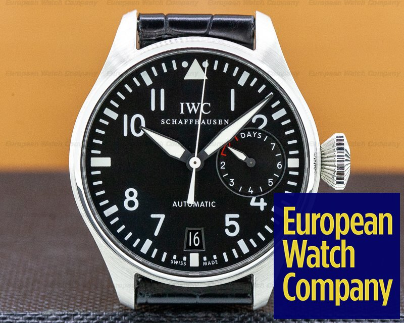 IWC IW500901 Big Pilot SS / Leather